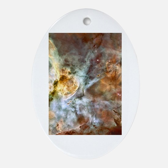 Astronomy Oval Ornament