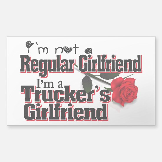Not a Regular Girlfriend - Tr Sticker (Rectangle)