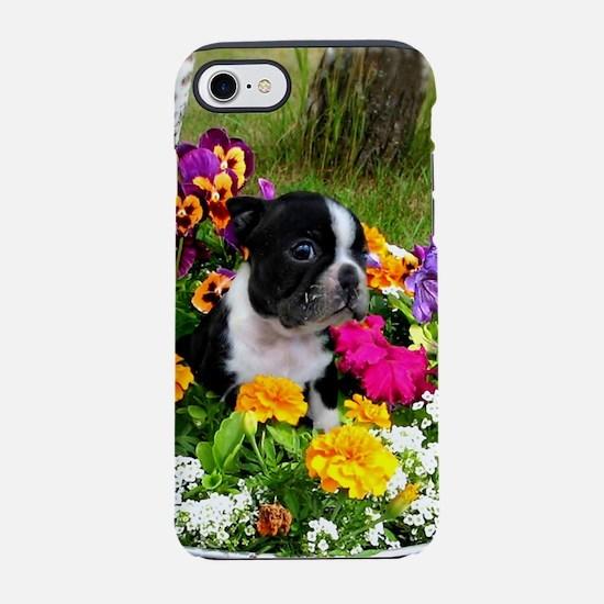 Boston Terrier puppy iPhone 7 Tough Case