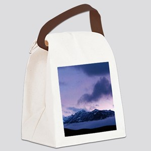 Morning at Mammoth Canvas Lunch Bag