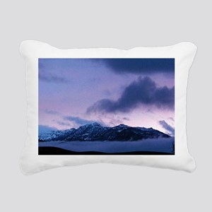 Morning at Mammoth Rectangular Canvas Pillow