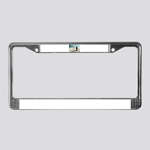 Nothing in the World License Plate Frame