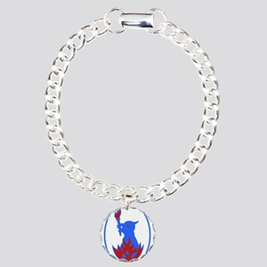 B ritish Military Headqu Charm Bracelet, One Charm