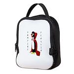 Vampire Penguin Neoprene Lunch Bag