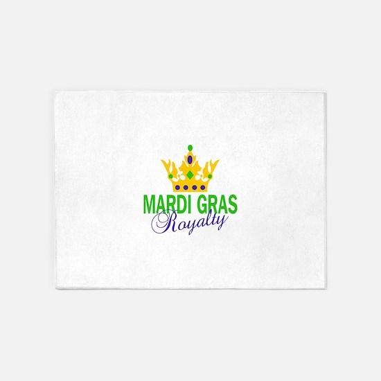MARDI GRAS ROYALTY 5'x7'Area Rug