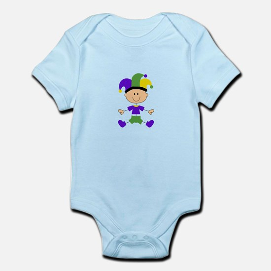 MARDI GRAS BABY Body Suit