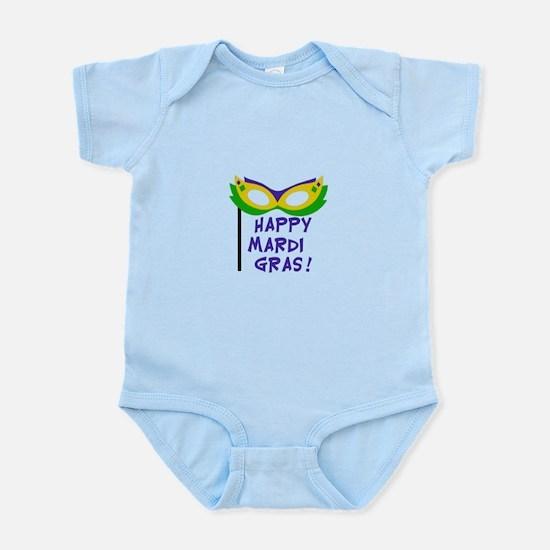 HAPPY MARDI GRAS Body Suit