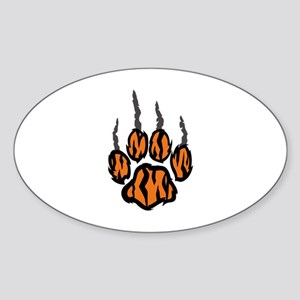 TIGER CLAW MARKS Sticker