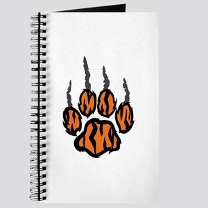 TIGER CLAW MARKS Journal