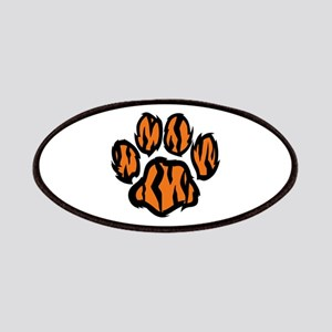 TIGER PAW PRINT Patches