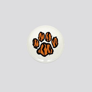 TIGER PAW PRINT Mini Button