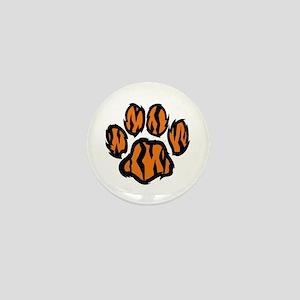 TIGER PAW PRINT Mini Button