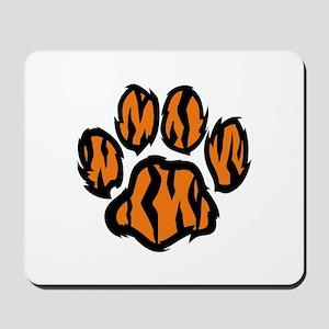 TIGER PAW PRINT Mousepad