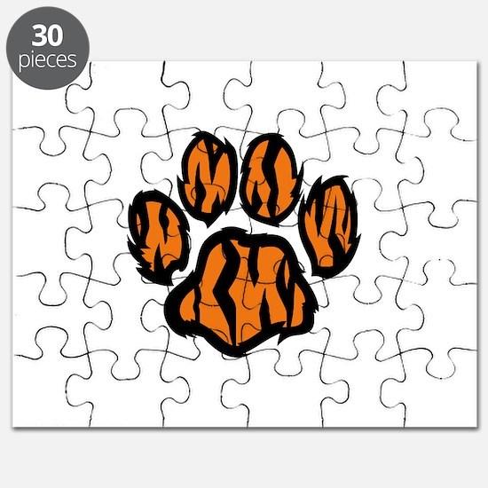 TIGER PAW PRINT Puzzle