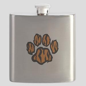 TIGER PAW PRINT Flask