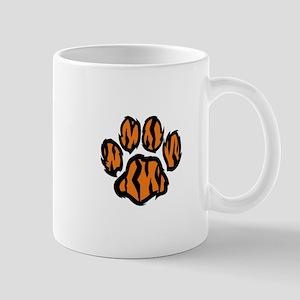 TIGER PAW PRINT Mugs