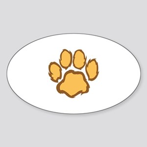 LION PAW PRINT Sticker