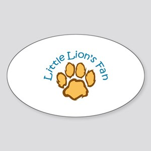 LITTLE LIONS FAN Sticker