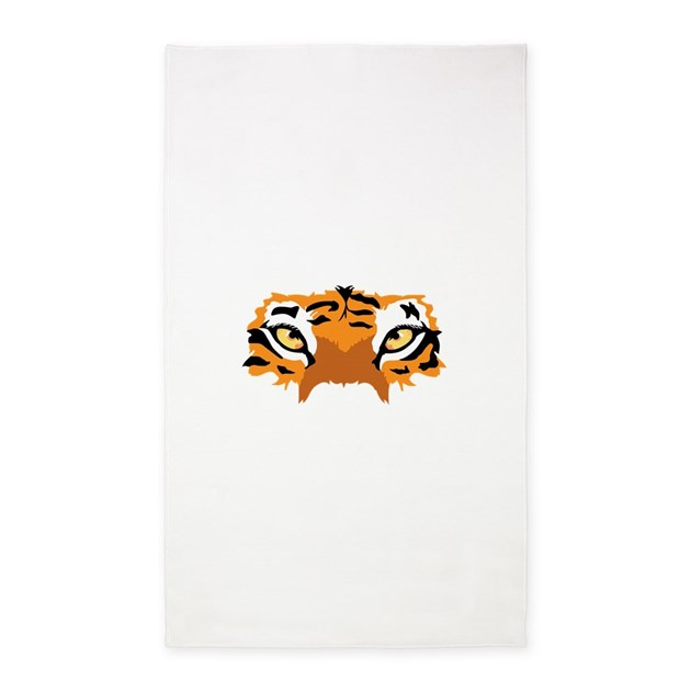 TIGER EYES Area Rug By Greatnotions10