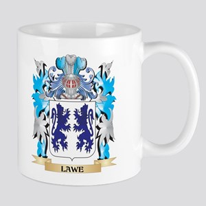 Lawe Coat of Arms - Family Crest Mugs