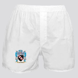 Layton Coat of Arms - Family Crest Boxer Shorts