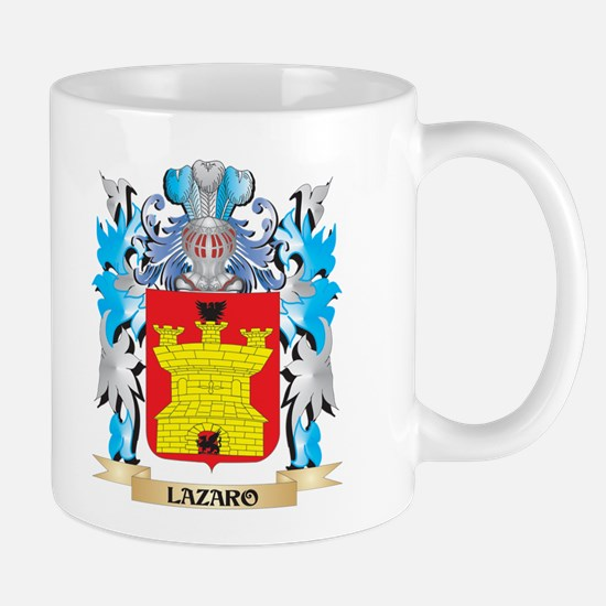 Lazaro Coat of Arms - Family Crest Mugs