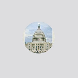 US Capitol Building Mini Button
