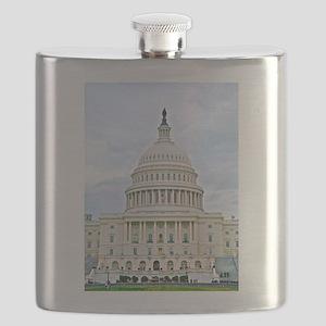US Capitol Building Flask