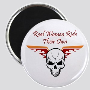 REAL WOMEN RIDE THEIR OWN Magnets