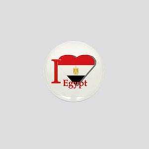 I love Egypt Mini Button