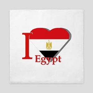 I love Egypt Queen Duvet