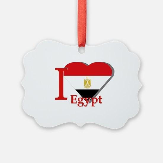 I love Egypt Ornament