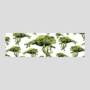 Green Tree Frogs 42x14 Wall Peel