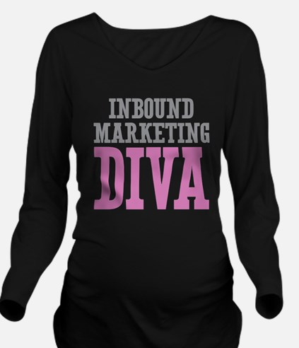 Inbound Marketing DI Long Sleeve Maternity T-Shirt
