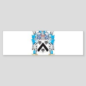 Lea Coat of Arms - Family Crest Bumper Sticker