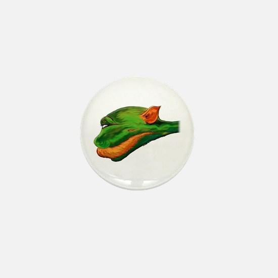 The Glimmer Worm Mini Button