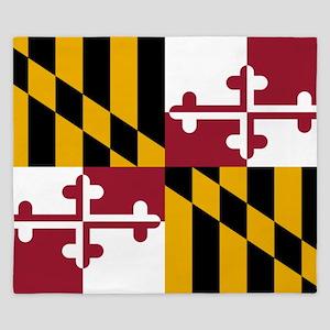 Flag of Maryland King Duvet
