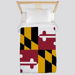 Flag of Maryland Twin Duvet