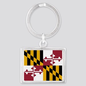 Flag of Maryland Keychains
