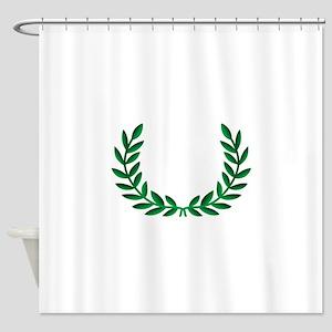 LAUREL WREATH Shower Curtain