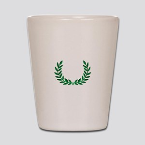 LAUREL WREATH Shot Glass