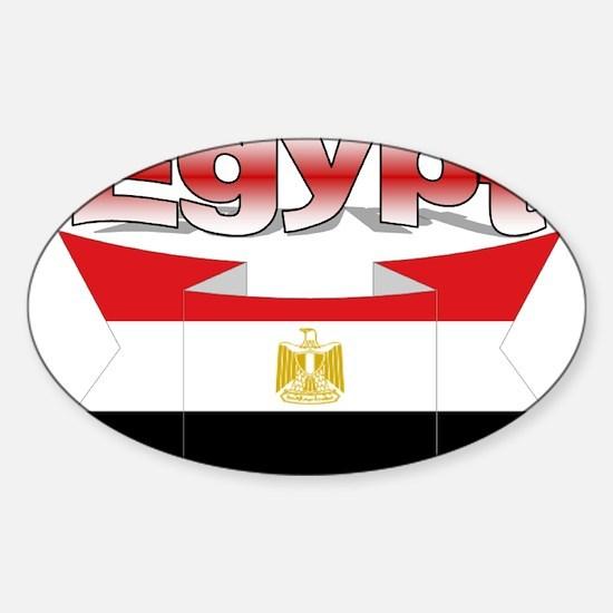 I love Egypt Sticker (Oval)