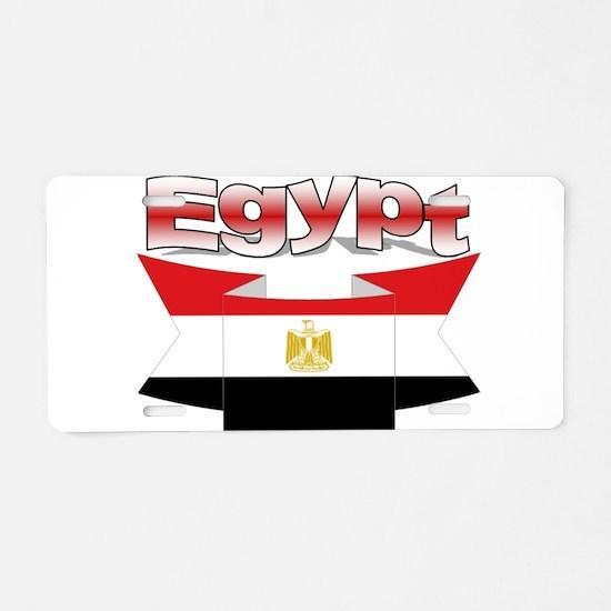 I love Egypt Aluminum License Plate