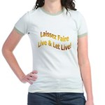 Live & Let Live Jr. Ringer T-Shirt