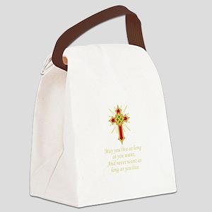 IRISH BLESSING Canvas Lunch Bag