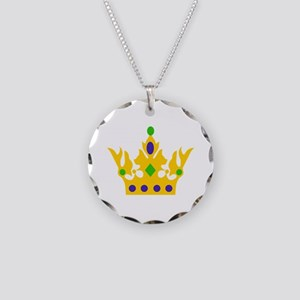 MARDI GRAS CROWN Necklace