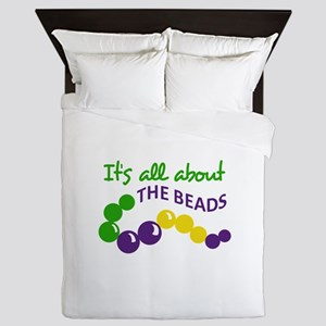 ITS ALL ABOUT THE BEADS Queen Duvet