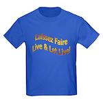 Live & Let Live Kids Dark T-Shirt