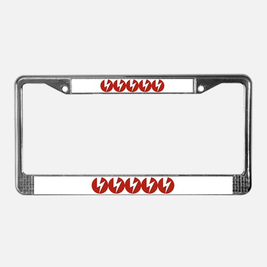 Lightning Boltz License Plate Frame