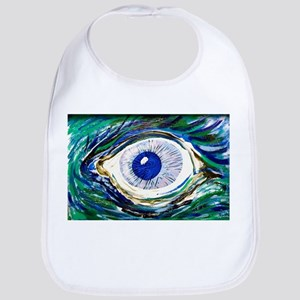 Aqua Eye by Doug LaRue Bib